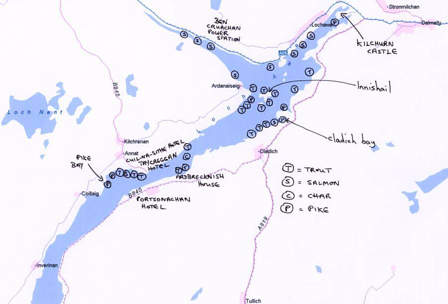 Loch awe community fishing for Loch lomond fishing
